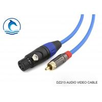 China Multimedia Rca Audio Video Cable With Amphenol Connectors ACPL-CYL wholesale