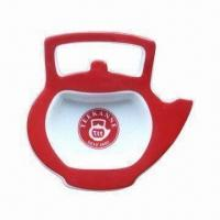 China Ceramic Tea Bag Holder with Decoration, Customized Designs are Welcome wholesale