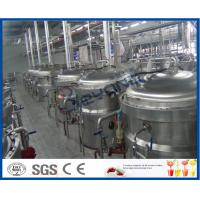 China 12TPH Soft Drink Production Process Soft Drink Production Line With Soft Drink Filling Machine wholesale