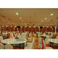 China Meeting Room MDF Folding Partiion Walls , Hotel Operable Partition Walls wholesale