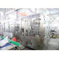 China Automatic Carbonated Drink Filling Machine , Gas Cold Drink Bottle Filling Machine wholesale