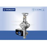 China Diaphragm Regulating Valve with manual and pneumatic integrated type wholesale