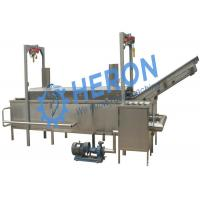 Net belt continuous fryer, drunkard peanut fried wire/ All kinds of fried foods Manufactures