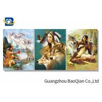 OEM Printing Service For Wall Decorative Picture , 3d Lenticular Picture