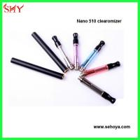 China Popular Nano 510 clearomizer newest Vision atomizer 1.8 ohm rechangeable coil wholesale