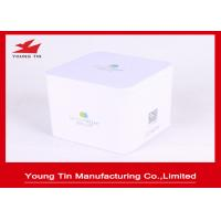 China Recyclable Square Metal Tea Storage Packaging Tins Box With Personalized Lid on sale