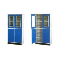 China Alloy handle Wood Stainless Steel Lab Cabinets Water Tray Corrosion Resistance wholesale