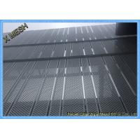China Anti Skid Perforated Metal Mesh , Wire Mesh Flooring Punching Hole Nature Surface wholesale