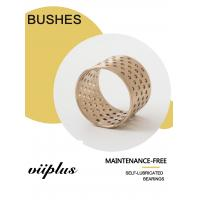 Cusn8 Standard Oil hole Material Thrust Washers & Strips | Bronze bushings for Lifting gear