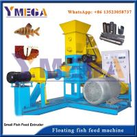 China Dry Type and Wet Type Extruding Machine for Floating Fish Feed Production wholesale