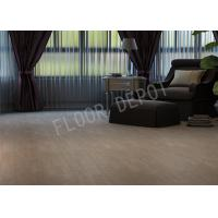 China Strong Durable HDF Laminate Flooring AC4 V Groove Waxed EIR 12mm Thickness wholesale