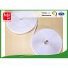 China Fabric Hook And Loop Tape Self - Adhesive / White Hook Loop Fastener 25m Per Roll wholesale