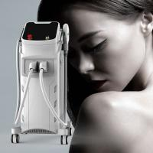 China Face Body Depilation Elight Rf Laser Machine 70 KG With Streamline Design wholesale