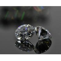 China 3ct 9mm Synthetic Moissanite Diamond Round Shape DEF Color For Fine Jewelry wholesale