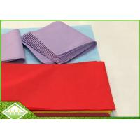 China 45gsm TNT SpunBonded Non Woven Table Cloth Recyclable Eco Friendly 1m X 1m wholesale