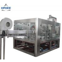 China High Efficiency Carbonated Drink Filling Machine For Small PET Bottle 5800kg wholesale