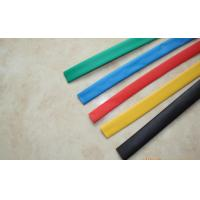 China Multi Colored PVC Thermo Heat Shrink Wrap Tubing For Electrical Copper Row on sale