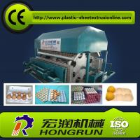 China Rotary Paper Pulp Molding Machine , Recycled Paper Egg Carton Machine on sale