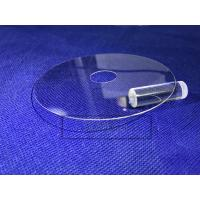 China Military Sapphire Glass Window , Optical Window Glass 0.5 - 50 Mm Thickness wholesale