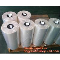 China Printed POF crosslink shrink film shrink wrap film,Central Fold POF Shrink Wrap Film,Thickness   Micron     12.5micron on sale