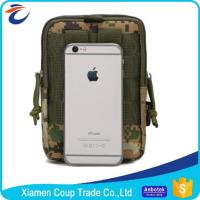 China Durable Canvas Materials Medical Waist Bag / Military Waterproof Bag For Ipad on sale
