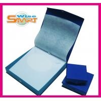 China Blue Rectangle, Square, Circular, Oval Shaped Paper Ring Box / Gift Packaging Jewellery Boxes wholesale