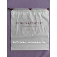 China Dry Cleaning Shop Disposable Plastic Laundry Bag Poly Drawstring Bags / Lundry Bag / Laundri Bag on sale
