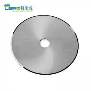 China Cigarette Filter Tungsten Carbide Circular Slitting Knives HRA89 wholesale