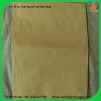 China BMPAPER kraft liner board/kraft liner board paper/kraft liner board price for cement bags wholesale