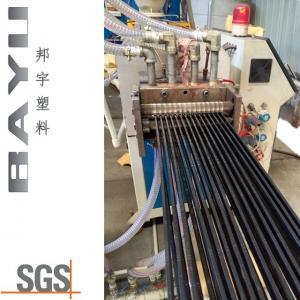 China PA66 GF25 thermal break polyamide strip extrusion extruder machine wholesale