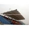 China Aluminum Window Prefabricated Steel Structures Round Steel Brace For Stadium wholesale