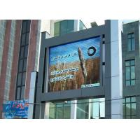 China P8 Big LED Video Display , Full color Outdoor Advertising LED Display Screen wholesale