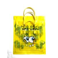 China Factory Custom made Transparent frosted PP gift plastic shopping bag wholesale