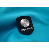 Round Decorative Clothing Patches TPU 3D Custom Iron On Patches For Clothes Manufactures