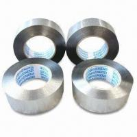 China Peritoneal Aluminum Foil Tapes for Ice Tank Equipment, with 2.5cm Initial Adhesion wholesale
