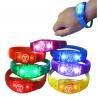 China Colorful Environmental Concert Lighting Bracelet Logo Customized wholesale