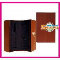 Quality Foldable Paper board Wine Bottle Box, Wine Packaging Boxes for Gift Packaging for sale