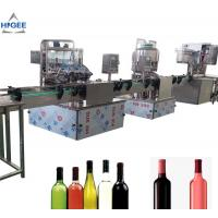 China Alcohol Carbonated Drink Filling Machine Line For Vodka Whisky GIN Sealing wholesale