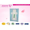 China Night Use 290mm  Anion Sanitary Napkin , Pure Cotton Disposable Menstrual Pads   Straight Style wholesale