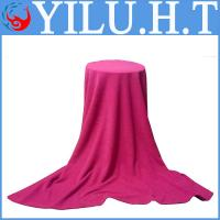 China king size solid color red polar fleece blanket king size in roll wholesale