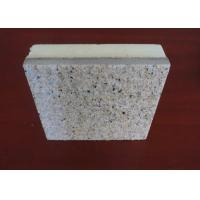 China Beautiful Appearance Natural Stone External Wall Insulation Boards With Real Stone Painting Surface wholesale