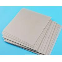 China 6 Inch 1.0mm Ceramic Substrate , Alumina Ceramic Plate For Semiconductor Processing wholesale