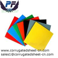 China 2-12mm waterproof white/black/yellow/green polypropylene corrugated plastic sheets for packing and printing industry wholesale