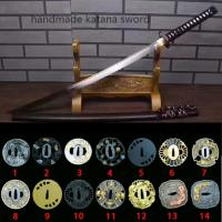 China handmade japanese real swords highly bendable blade SS005 wholesale