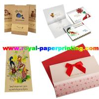 China customize die cutting and colorful postcard/wedding card/thank you  card wholesale