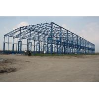 China Posco Factory Building Steel Frame Light Gauge 43000 Square Meters wholesale
