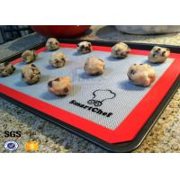 China Non Stick Silicone Kitchen Mat Heat Resistant Silcone Baking Mat on sale