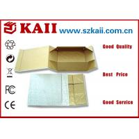 China Little Folded Pantone Paper Gift Packaging Boxes / 1100g Grey Card For Jewelry wholesale