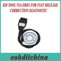 Buy cheap KM TOOL VIA OBD2 For FIAT Mileage Correction Diagnostic with Good quality from wholesalers