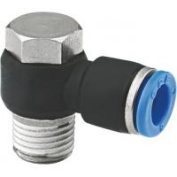 90 Degree Banjo Elbow NPT Threaded Fittings , Pneumatic One Touch Fittings Manufactures